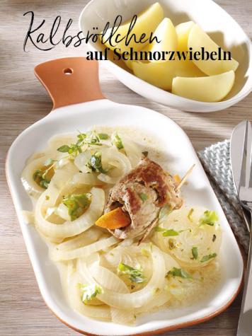 Rezept - Kalbsröllchen auf Schmorzwiebeln - Simply Kreativ Thermomix® Diät Special 01/2019