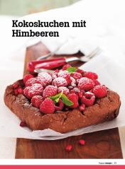 Rezept - Kokoskuchen mit Himbeeren - Healthy Vegan Sonderheft - Vegan - 01/2019