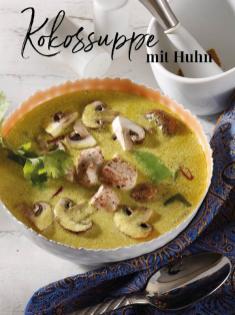 Rezept - Kokossuppe mit Huhn - Simply Kreativ Thermomix® Diät Special 01/2019