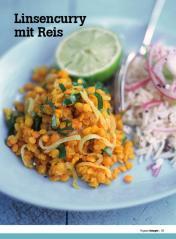Rezept - Linsencurry mit Reis - Healthy Vegan Sonderheft - Vegan - 01/2019