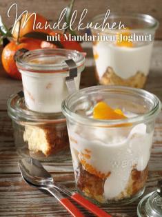 Rezept - Mandelkuchen mit Mandarinen-Joghurt - Simply Kreativ Thermomix® Diät Special 01/2019