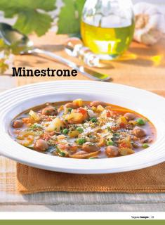Rezept - Minestrone - Healthy Vegan Sonderheft - Vegan - 01/2019