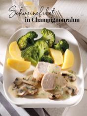 Rezept - Scheinefilet in Champignonrahm - Simply Kreativ Thermomix® Diät Special 01/2019