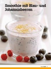 Rezept - Smoothie mit Blau und Johannisbeeren - Healthy Vegan Sonderheft - Vegan - 01/2019