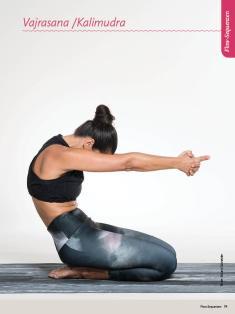 Yoga-Anleitung - Vajrasana Kalimudra - Sportplaner Yoga-Guide Retreats 02/2019