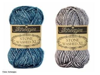 Scheepjes Stone Washed XL blau und drau