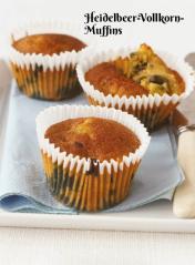 Rezept - Heidelbeer-Vollkorn-Muffins - Simply Kochen Sonderheft Zuckerfrei 01/2019