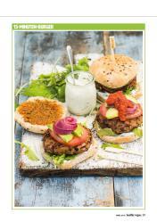 Rezept - 15-Minuten-Burger - Healthy Vegan 02/2019