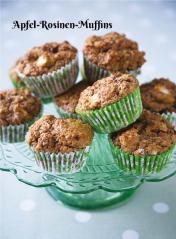 Rezept - Apfel-Rosinen-Muffins - Simply Kochen Sonderheft Zuckerfrei 01/2019