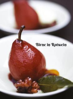 Rezept - Birne in Rotwein - Simply Kochen Sonderheft Zuckerfrei 01/2019