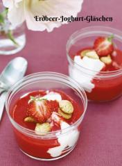 Rezept - Erdbeer-Joghurt-Gläschen - Simply Kochen Sonderheft Zuckerfrei 01/2019