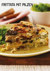 Rezept - Frittata mit Pilzen - Simply Kochen Sonderheft Paleo-Diät 01/2019