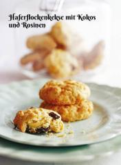 Rezept - Haferflockenkekse mit Kokos und Rosinen - Simply Kochen Sonderheft Zuckerfrei 01/2019