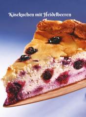 Rezept - Käsekuchen mit Heidelbeeren - Simply Kochen Sonderheft Zuckerfrei 01/2019