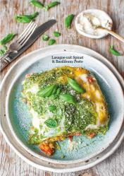 Rezept - Lasagne mit Spinat und Basilikum-Pesto - Healthy Vegan 02/2019