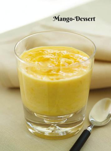 Rezept - Mango-Dessert - Simply Kochen Sonderheft Zuckerfrei 01/2019