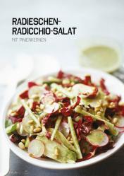Rezept - Radieschen-Radicchio-Salat mit Pinienkernen - Simply Kochen Sonderheft Paleo-Diät 01/2019