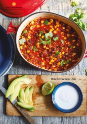 Rezept - Räucherbohnen-Chili - Healthy Vegan 02/2019