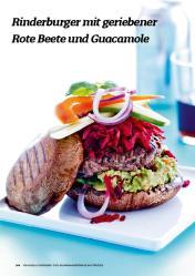 Rezept - Rinderburger mit geriebener Rote-Beete und Guacamole - Simply Kochen Sonderheft Körper ohne Entzündungen 01/2019