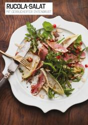 Rezept - Rucola-Salat mit geräucherter Entenbrust - Simply Kochen Sonderheft Paleo-Diät 01/2019