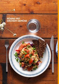 Rezept - Rührei mit Grünem Gemüse - Simply Kochen Sonderheft Körper ohne Entzündungen 01/2019