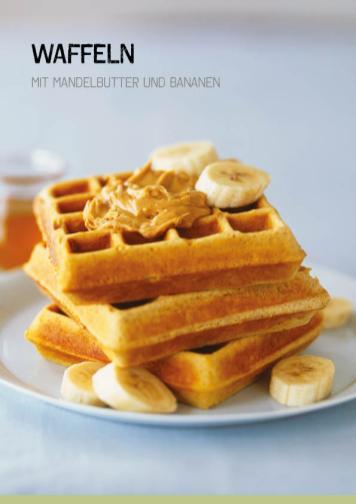 Rezept - Waffeln mit Mandelbutter und Bananen - Simply Kochen Sonderheft Paleo-Diät 01/2019