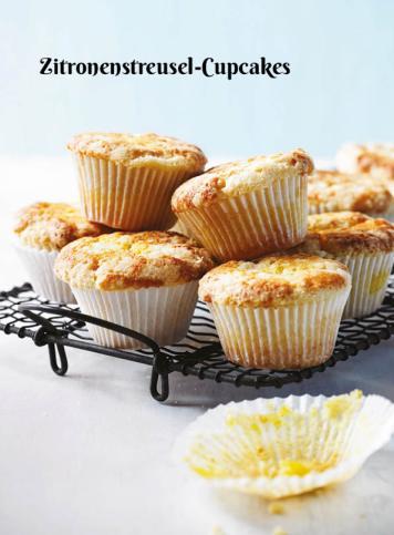 Rezept - Zitronenstreusel-Cupcakes - Simply Kochen Sonderheft Zuckerfrei 01/2019