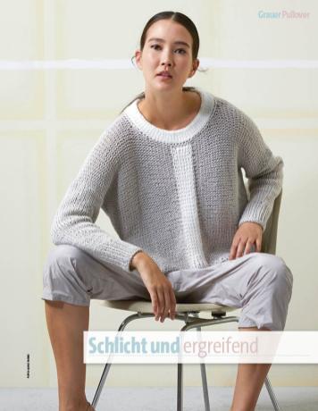 Strickanleitung - Schlicht und ergreifend - Fantastische Frühlings-Strickideen 02/2019