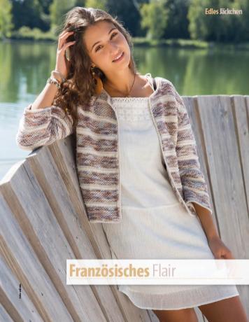Strickanleitung - Französisches Flair - Fantastische Frühlings-Strickideen 02/2019