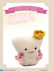 Häkelanleitung - Prinzessin - Fantastische Häkelideen Geschenkboten Amigurumi Vol. 22