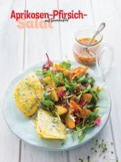 Rezept - Aprikosen-Pfirsich-Salat auf Doradenfilet - Simply Kochen Sonderheft - Frühlingssalate