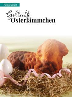 Rezept - Gefleckte Osterlämmchen - Simply Backen Special – Osterbacken mit dem Thermomix® 02/2019