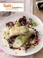 Rezept - Sushi-Salat mit Wasabidressing - Simply Kochen Sonderheft - Frühlingssalate