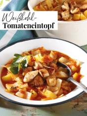 Rezept - Weißkohl-Tomateneintopf - Simply Kreativ Extra – Leckere Ideen für den Thermomix® 02/2019