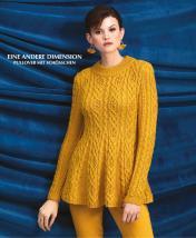 Strickanleitung - Eine andere Dimension - Pullover mit Schösschen - Designer Knitting 02/2019