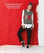 Strickanleitung - Techtelmechtel mit den Highlands - Argyle-Pullunder - Designer Knitting 02/2019