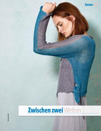 Strickanleitung - Zwischen zwei Welten - Fantastische Frühlings-Strickideen 02/2019
