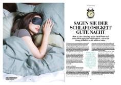 Gute Nacht, Schlaflosigkeit - Galileo Sonderheft Schlaf Guide 01/2019