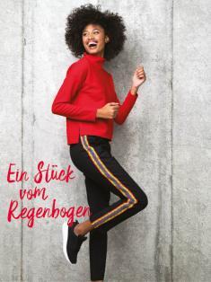 Häkelanleitung - Ein Stück vom Regenbogen - Simply Häkeln 03/2019