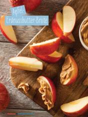 Rezept - Apfel-Erdnussbutter-Brote - Simply Kochen Sonderheft - Ernährung in der Schwangerschaft - mit Nina Kämpf von Mamaaempf