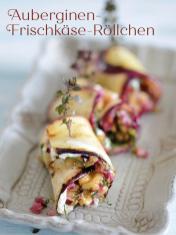Rezept - Auberginen-Frischkäse-Röllchen - Bewusst Low Carb Sonderheft Keto