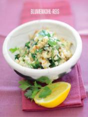 Rezept - Blumenkohl-Reis - Bewusst Low Carb Sonderheft Keto