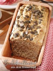 Rezept - Bockshornkleebrot aus dem Römertopf - Simply Backen Sonderheft – Brote und Brötchen mit dem Thermomix® 02/2019