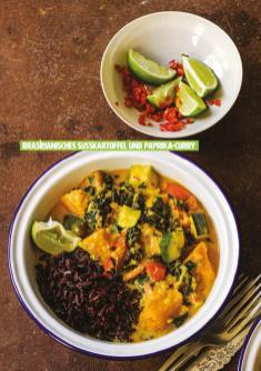 Rezept - Brasilianisches Süßkartoffel und Paprika-Curry - Healthy Vegan 04/2019