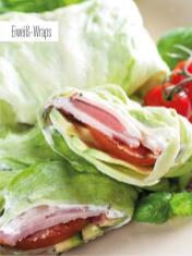 Rezept - Eiweiß-Wraps - Bewusst Low Carb