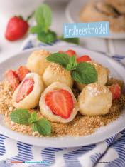 Rezept - Erdbeerknödel - Simply Kochen Sonderheft - Ernährung in der Schwangerschaft - mit Nina Kämpf von Mamaaempf