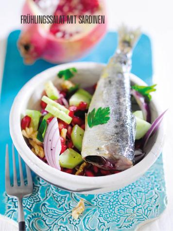 Rezept - Frühlingssalat mit Sardinen - Bewusst Low Carb – 04/2019