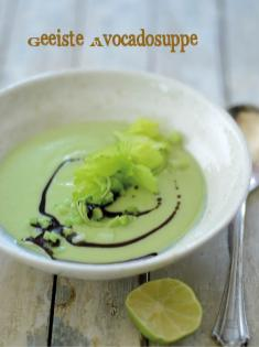 Rezept - Geeiste Avocadosuppe - Bewusst Low Carb Sonderheft Keto