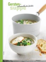 Rezept - Gersten-Suppe mit karamellisierten Zwiebeln - Simply Kochen Sonderheft - Suppen und Eintöpfe - 01/2019
