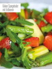 Rezept - Grüner Spargelsalat mit Erdbeeren - Bewusst Low Carb